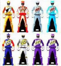 13 Kyoryuger Ranger Keys