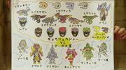 Kyoryuger diagram