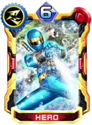 NinjaBlue Card in Super Sentai Legend Wars
