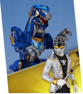 Q-Rex Dino Mode Megazord Madness