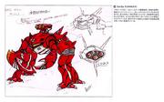 Bioman Crabconcept