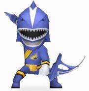 Blue Wild Force Ranger in Power Rangers Dash