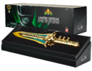 MMPR BANDAI SDCC 2014 POWER RANGERS GOLD PLATED LEGACY DRAGON DAGGER 01