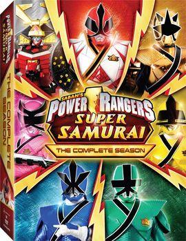 PowerRangersSuperSamurai CompleteSeason DVD