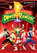 Mightymorphinpowerrangers dvd