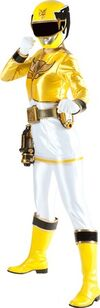 Yellow-power-rangers-megaforce-lifesize-standup-poster