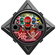 Super Megaforce Ninja Power Star (Black Version)