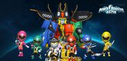 Power Rangers Super Megaforce in Power Rangers Dash