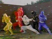MMPR Ninja Rangers