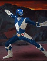 Legacy Wars Mighty Morphin Blue Ranger Victory Pose