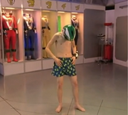 RPM Ziggy Grover in boxers learning to teleport