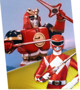 Red Ape Ninjazord Megazord Madness
