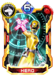 DekaYellow Card in Super Sentai Legend Wars