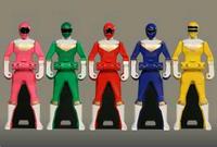 Ohranger Ranger Keys