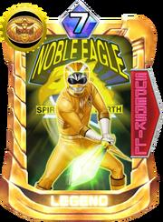 GaoYellow Card in Super Sentai Legend Wars