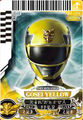 Gosei Yellow card