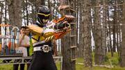 PRDC Dino Armor X Black Ranger