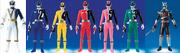 Dekaranger Sentai Vinyl Figure