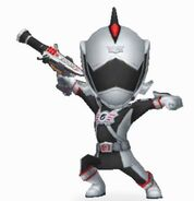 Silver RPM Ranger in Power Rangers Dash