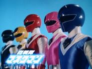 Hikari sentai maskman commercial banner