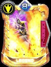 AbareBlack Card in Super Sentai Legend Wars