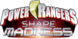 Power Rangers Shape Madness logo