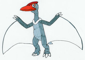 Firebreak the Quetzalcoatlus by MCsaurus