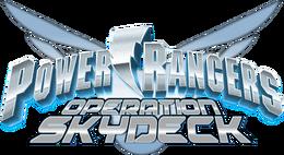 Power Rangers Operation Skydeck logo