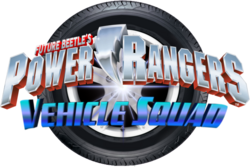 Power Rangers Vehicle Squad logo
