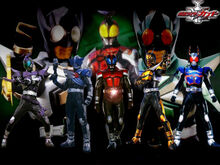 All kabuto riders by Mastvid