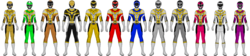 Vehicle Squad Rangers