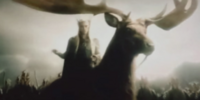 Thranduil on a Moose