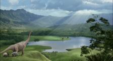 Disney dinosaur nesting ground