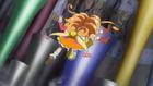 MTPC movie - Cure Mofurun catching Mirai