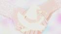 Mirai and Riko holding hands Sapphire