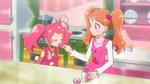 PCDS Ichika gives Sakura a pickled blossom