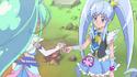 Princess Gives Mermaid A Dress up Key