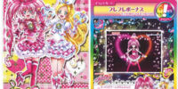 Pretty Cure All Stars Suite Flower Card Collection