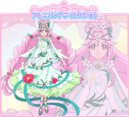 Cure Felice in her Alexandrite Style official art from Toei Website