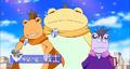 Three Warriors frogs
