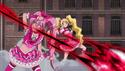 Melody and Peach Deflecting King Selfness Attacks