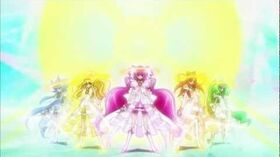 Princess Form & Rainbow Buster (Smile Precure) ~HD