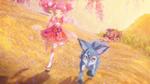 PCDS Dogs chasing Sakura Shizuku