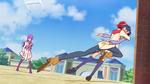 PCDS Akira jumps to save Yui