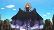 Evil Cinderella chasing after Reika