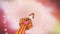 Rin Metamorphose in Edo clothes