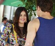 Aria and Jake talking
