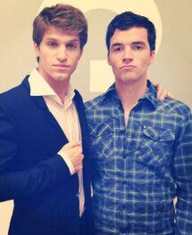 Ian and Keegan perf