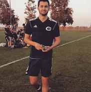 Ryan Guzman doing soccer