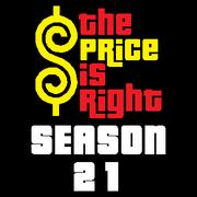 Price is Right Season 21 Logo
